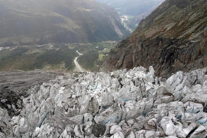 ghiacciaio del Monte Bianco - Ghiacciaio Di Planpincieux