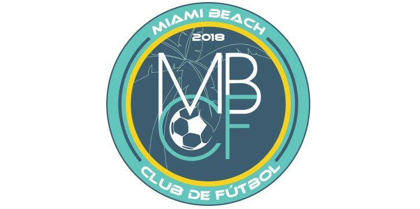Logo del Miami Beach Club de Futbol, nuova squadra di Paolo De Ceglie