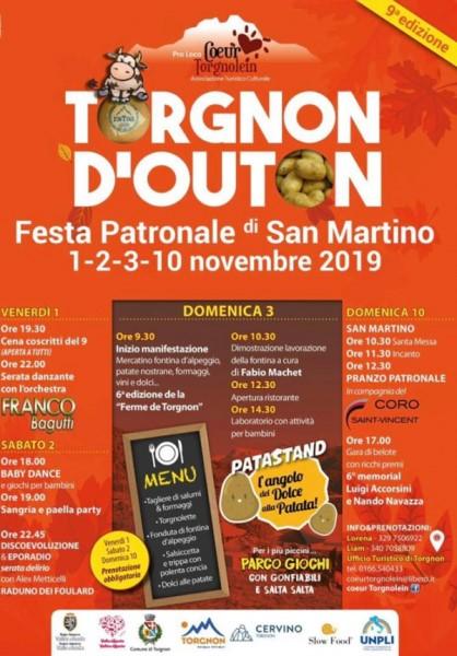 Torgnon d'outon: evento