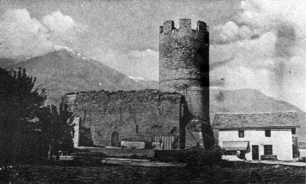 Vecchia Foto Del Castello Di Bramafam