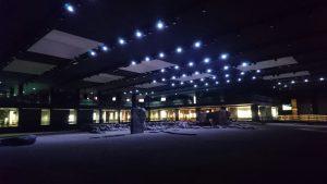 Musei aperti: spazio centrale del museo