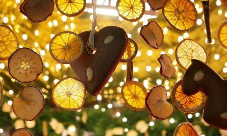 natale: fette di Limoni E Biscotti