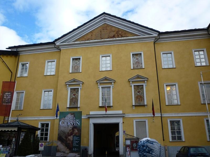 Musei aperti: Mar Aosta Facciata