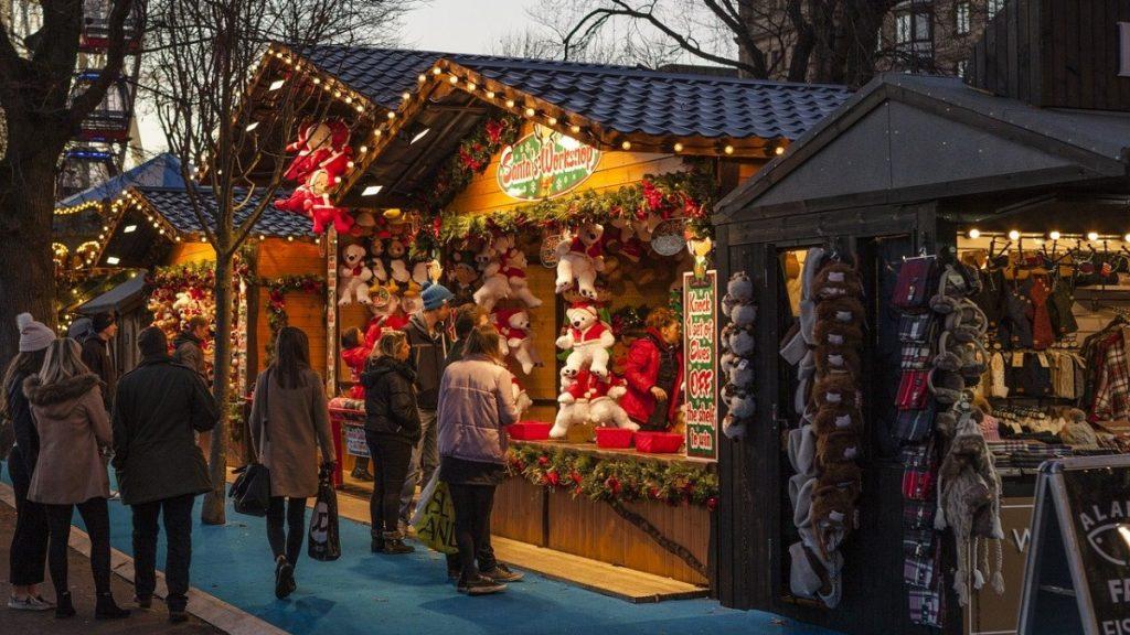 Marché Vert Noël: Mercatini Di Natale