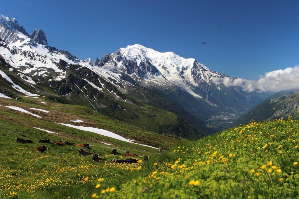 le maggiori località sciistiche della Valle d'Aosta - Monte Bianco