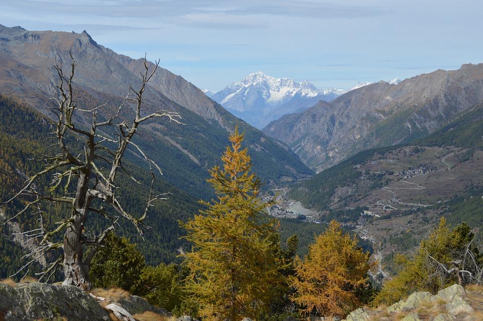 Parchi naturali - Panoramica Sul Parco Nazionale Del Gran Paradiso