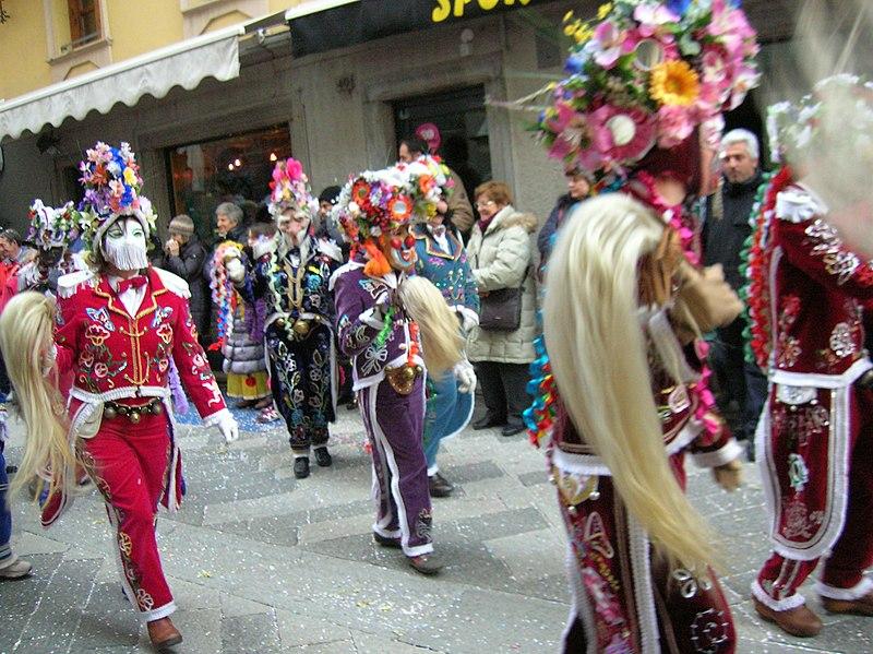 Carnevale: uno scatto durante la sfilata