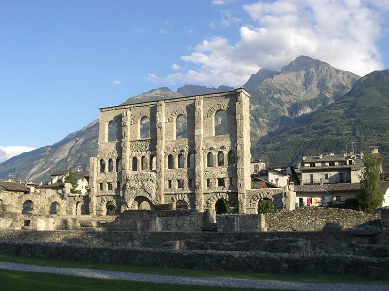 Teatro romano di Aosta