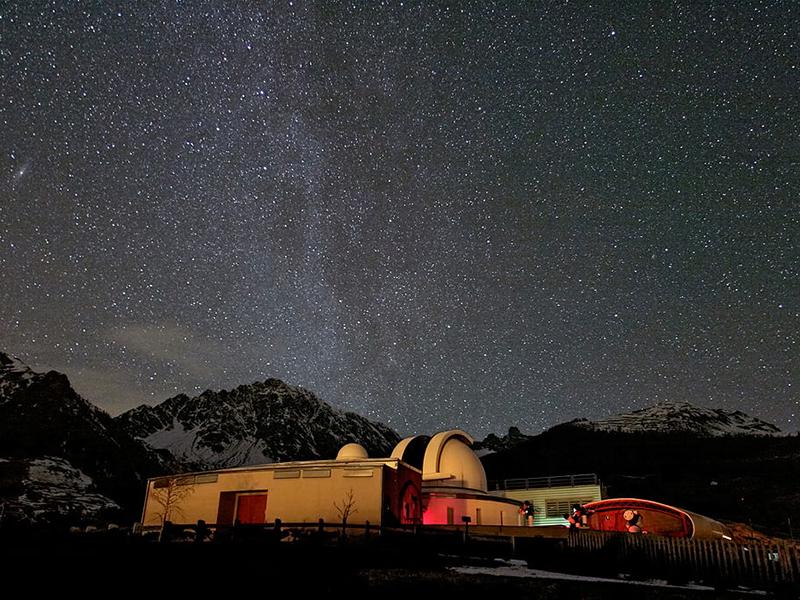 Osservatorio di notte