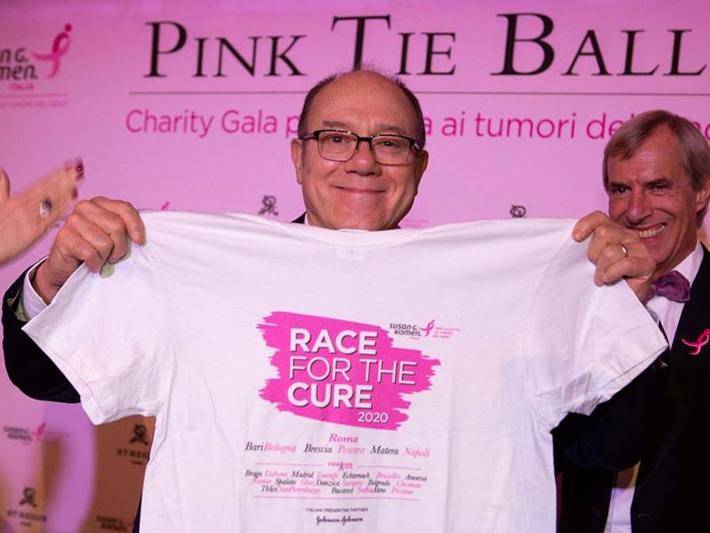 Carlo Verdone per la lotta ai tumori