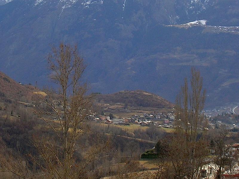 """Panoramica della riserva naturale """"Lo Tzatelet"""""""