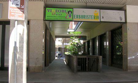 Entrata dell'Area Funeraria