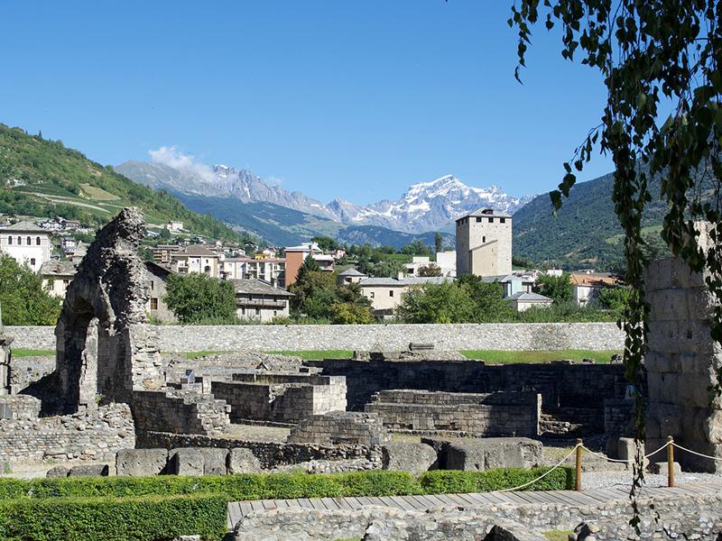 Area Funeraria di origine romana