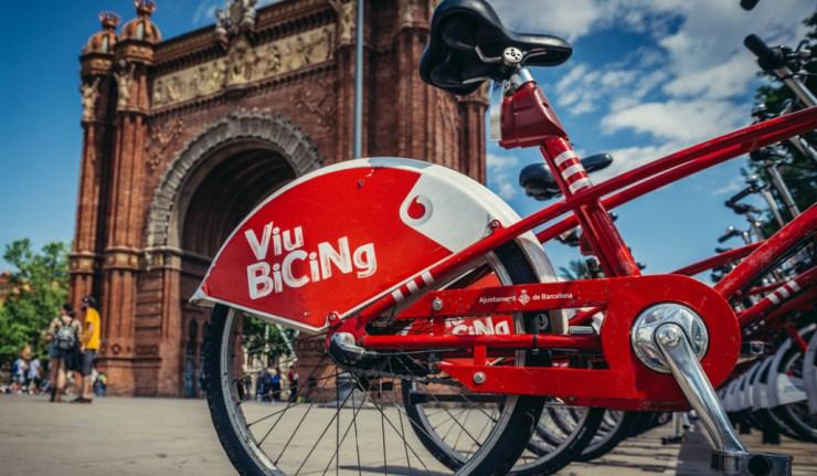 Barcellona in bicicletta con Viu Bicing