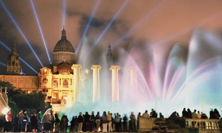 gratis a Barcellona, fontana magica