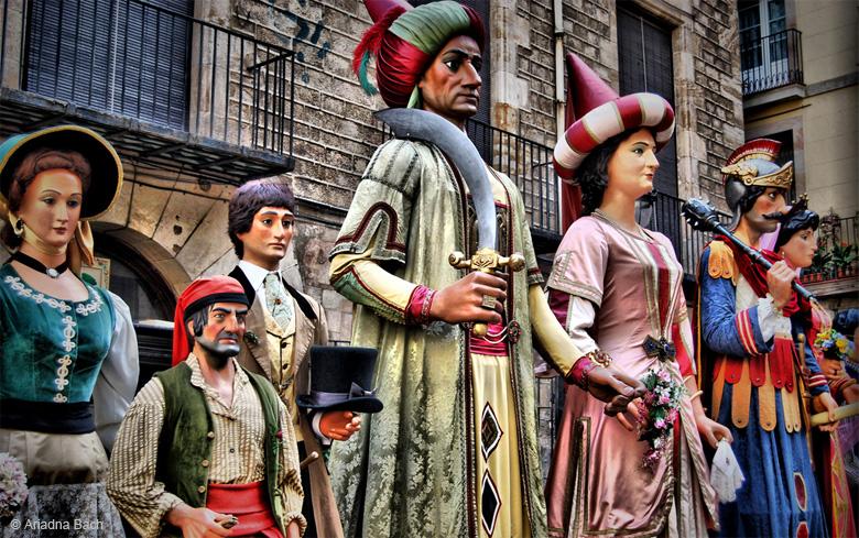 marzo a Barcellona, festa di Sant Josep