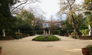Giardini della Tamarita, intyerno