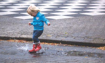 Barcellona quando piove