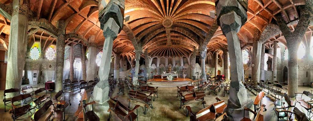 Colonia Guell, cripta Gaudì