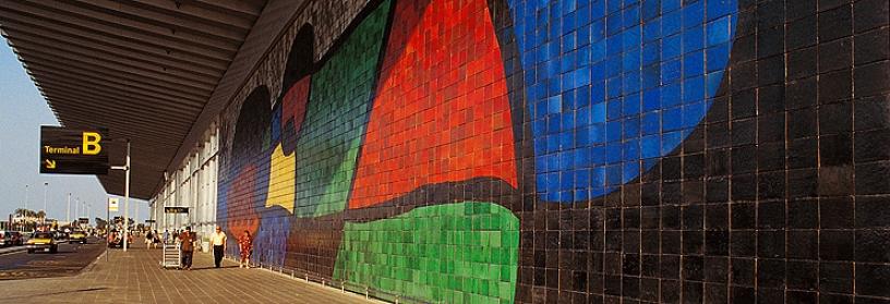Mirò, El Prat murale