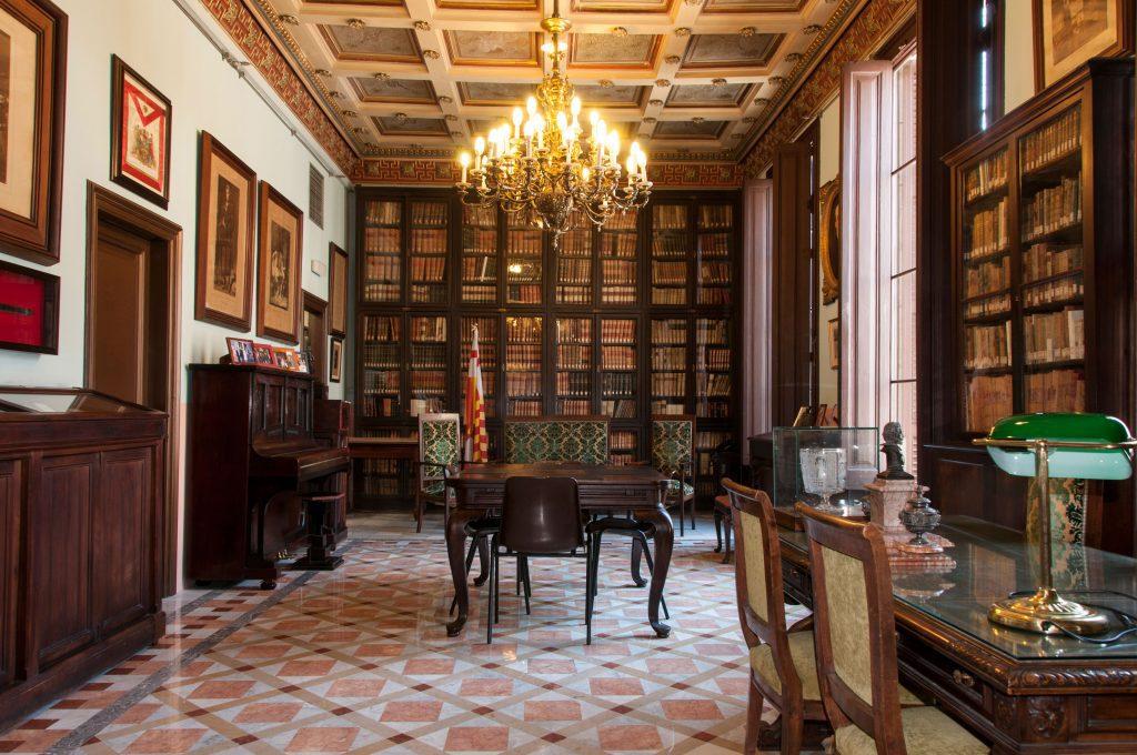 Biblioteca Arus Antigua Sala De Musica Revistalomas Online