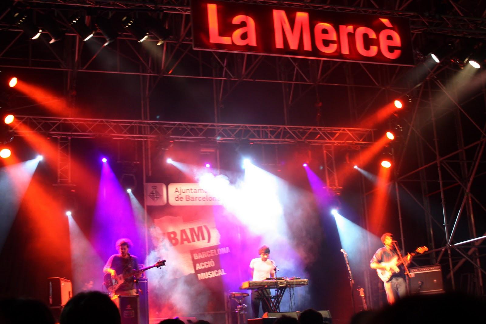 Bam Concerts La Merce Barcelona