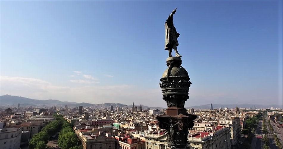 origini di Cristoforo Colombo - statua