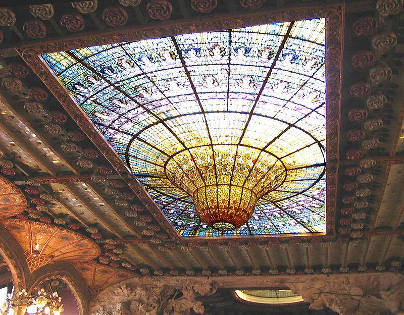 800px Palau De La Musica Catalana Interior 2