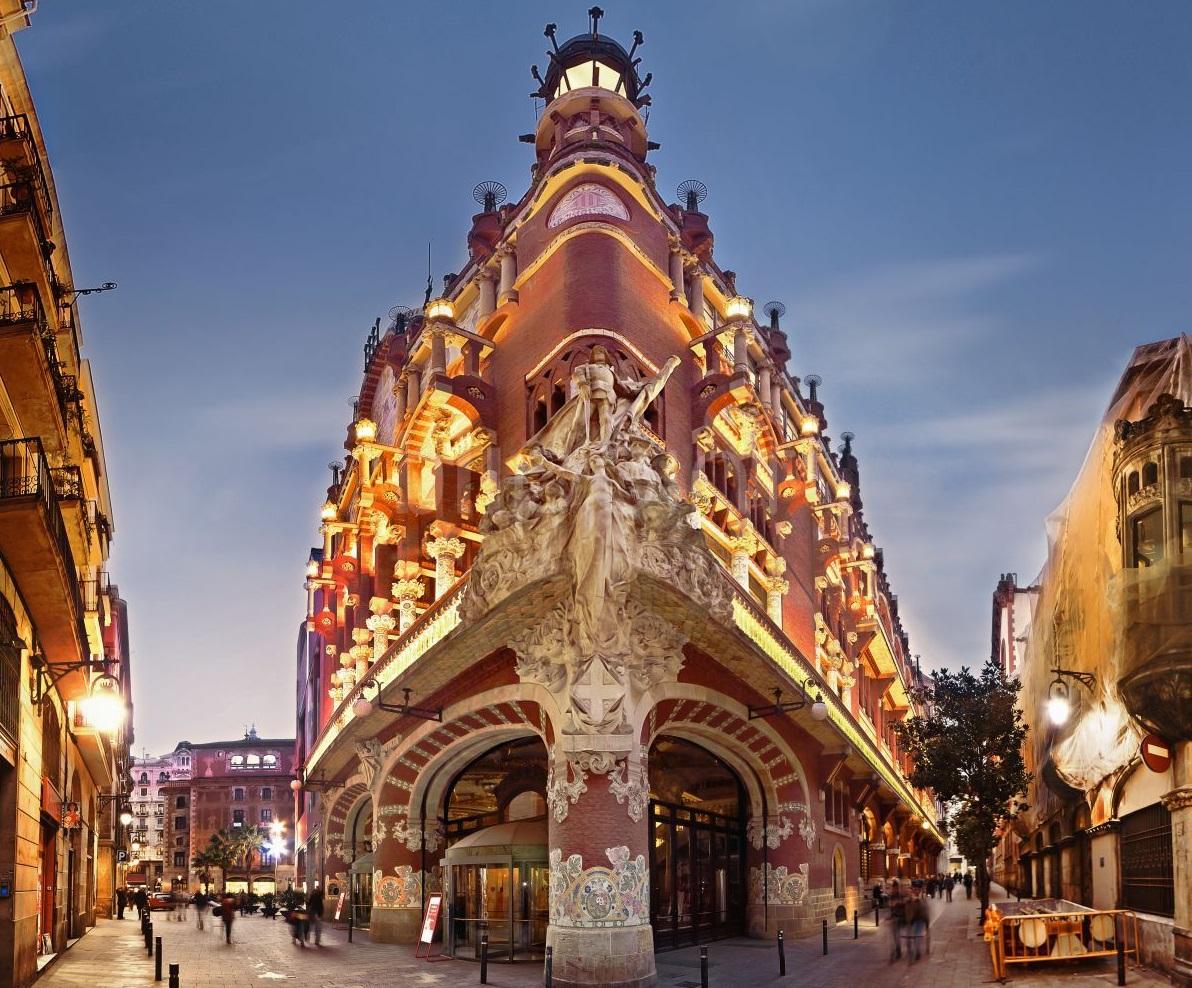 Palau De La Musica Vista Completa