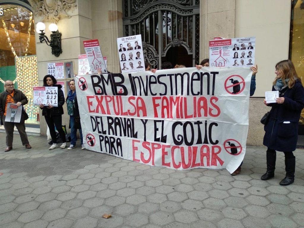 Manifestacion Del Sindicat Llogaters
