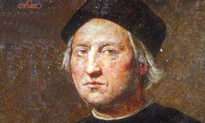 origini di Cristoforo Colombo-statua