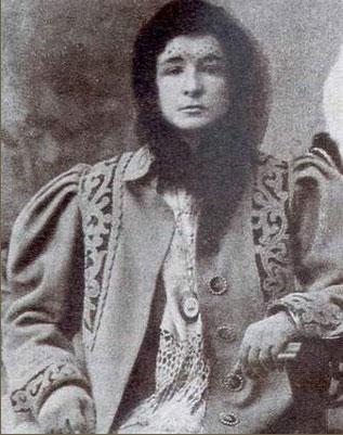 Enriqueta Martí - foto d'epoca della donna