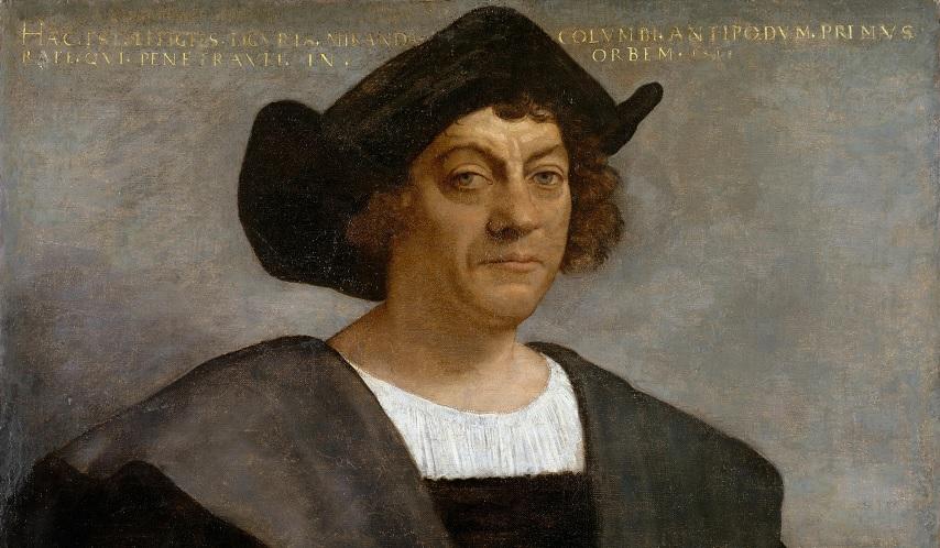 Origini Di Cristoforo Colombo-Dipinto