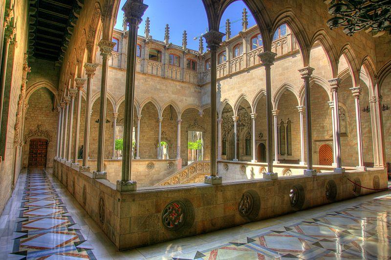 Palau De La Generalitat-Galleria gotica