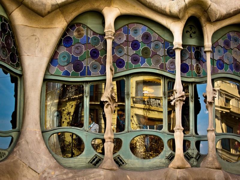 celebrità a Barcellona - Gaudì e il suo talento artistico