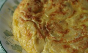 tapas-Tortilla de patatas