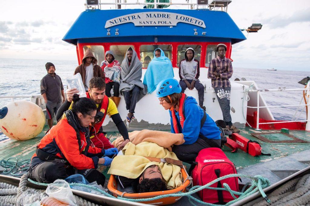 Mediterranea - foto di Michelle Seixas sulla barca