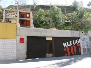 Refugio 307 - ingresso del rifugio