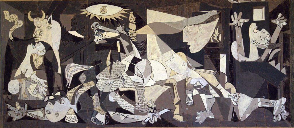 Refugio 307 - il dipinto Guernica di Pablo Picasso