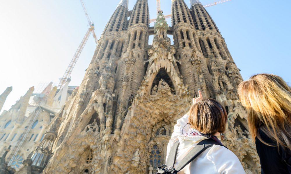 Sagrada Familia Gaudí - facciata della chiesa