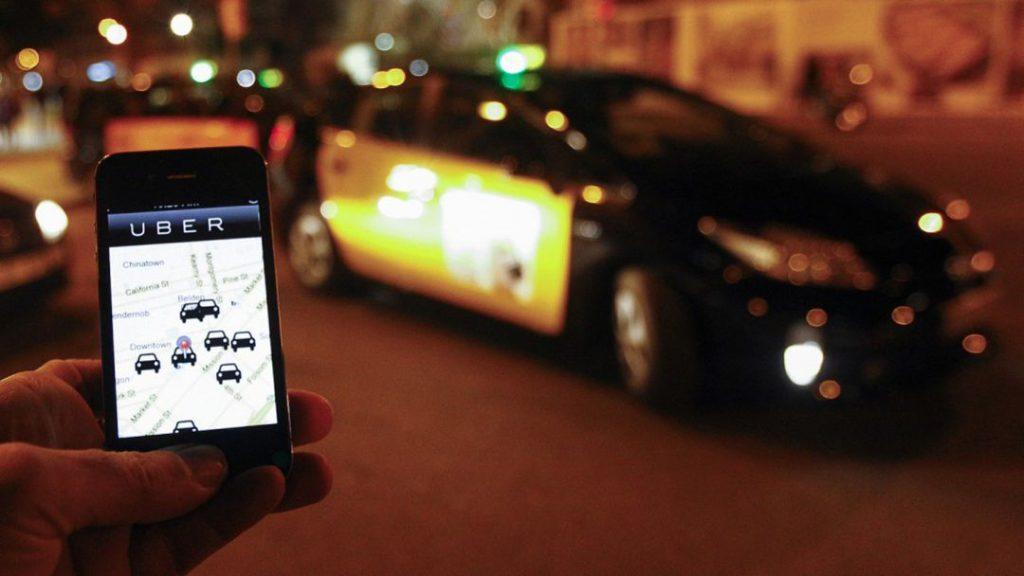 Uber Cabify Barcellona - foto App di Uber