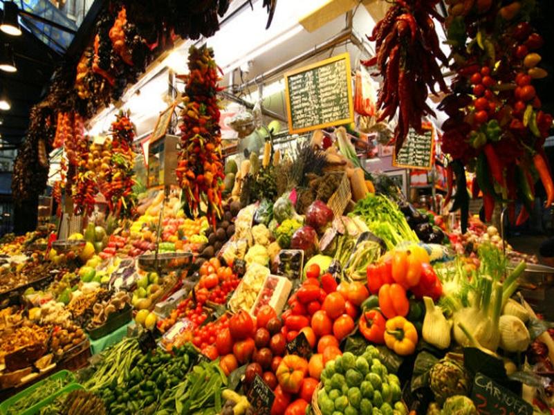 Spesa a Barcellona, Mercato Barcellona