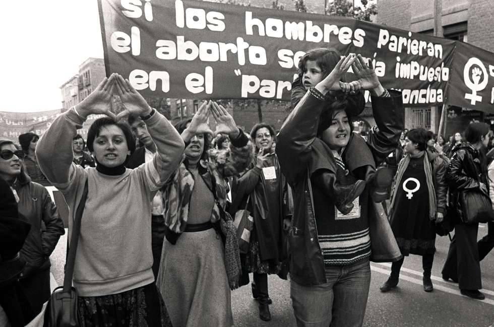 Barcellona femminista - corteo femminile