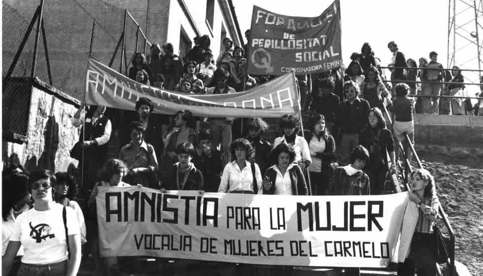 Barcellona femminista - manifestazione