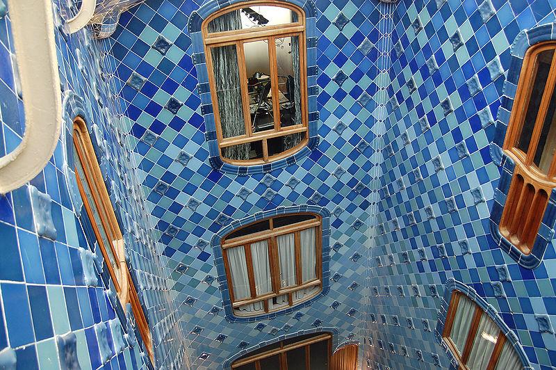 Casa Batlló - dettaglio interno