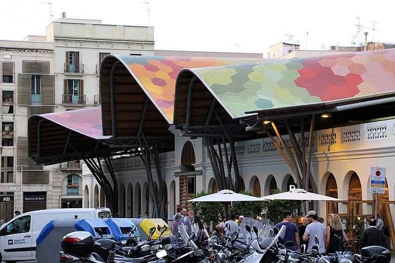 Esterno del mercat de Santa Caterina