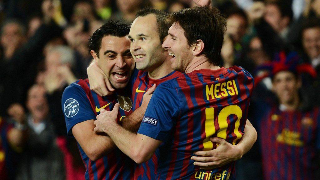 Cantera del Barcellona - Messi Xavi E Iniesta