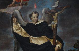 Portal de l'Ángel - dipinto di San Vincenzo Ferrer