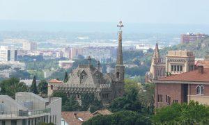 luoghi Barcellona - Vista panoramica della Torre di Bellesguard