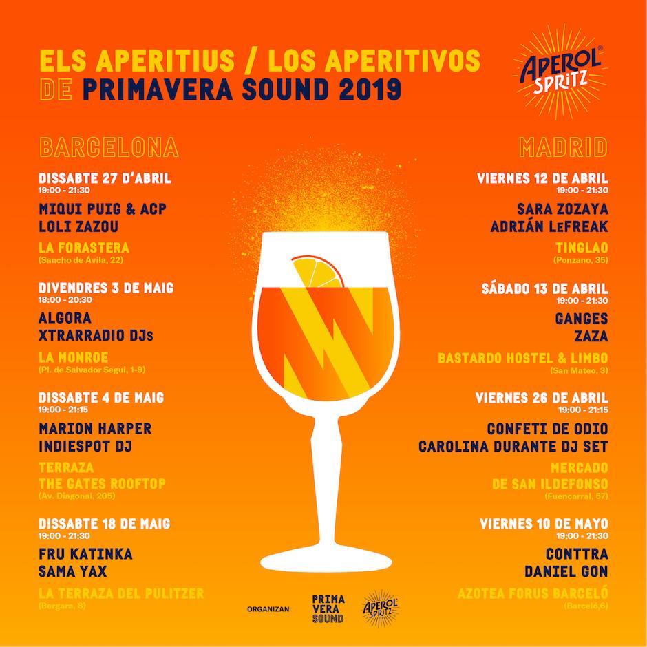 primavera sound festival - Aperitius Aperol